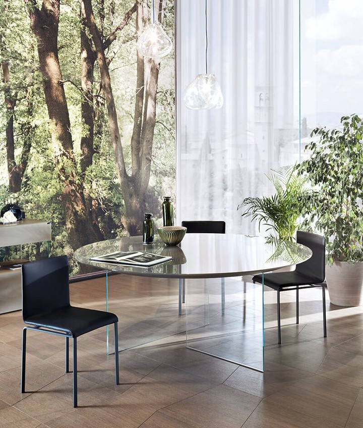 Homeinterior Lighting Design: LAGO: Air Round Table, The Perfect Shape For