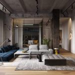 HOME DESIGNING: The Merging Of Three Apartments To Make One Amazing Loft