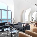 CONTEMPORIST: Arched Windows And Vaulted Ceilings Help To Make This A Bright And Open Apartment Interior