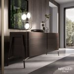 NATUZZI – CONTEMPORARY SOFAS: Straight lines and typical 50's proporti …