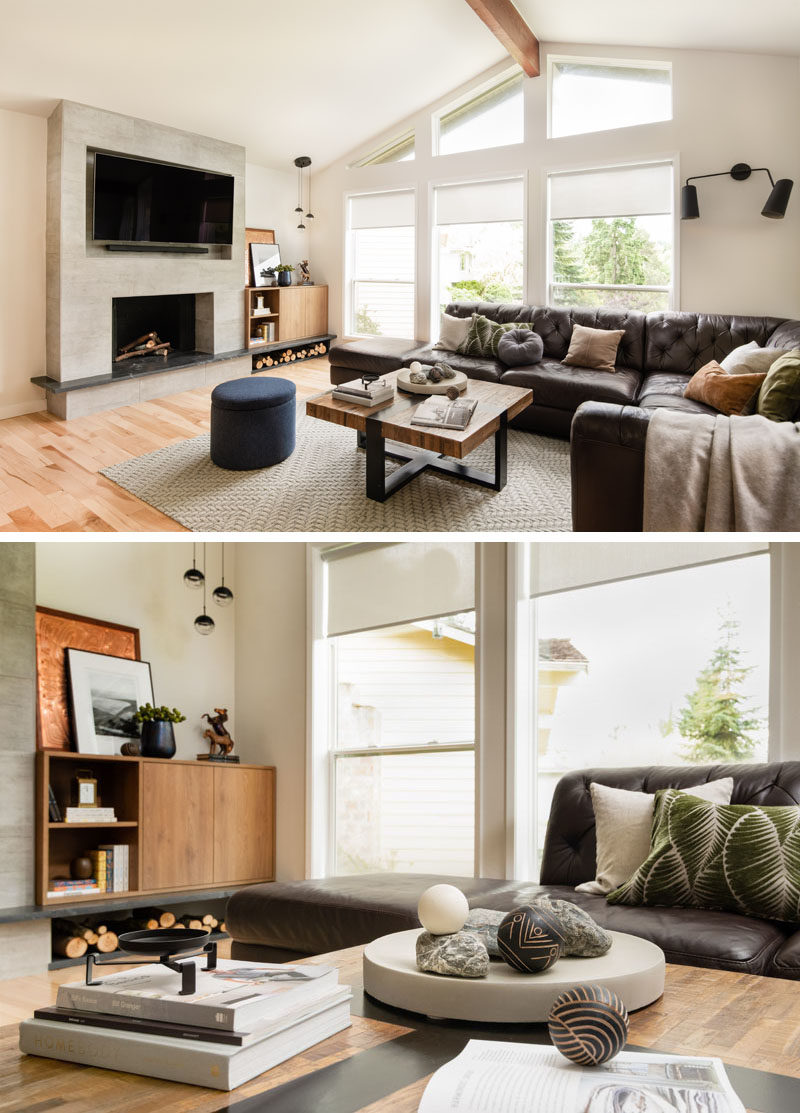 Contemporist Before After Living Room Renovation With A