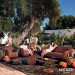 NATUZZI – CONTEMPORARY SOFAS: When rural world meets modern style. Mediterranean …