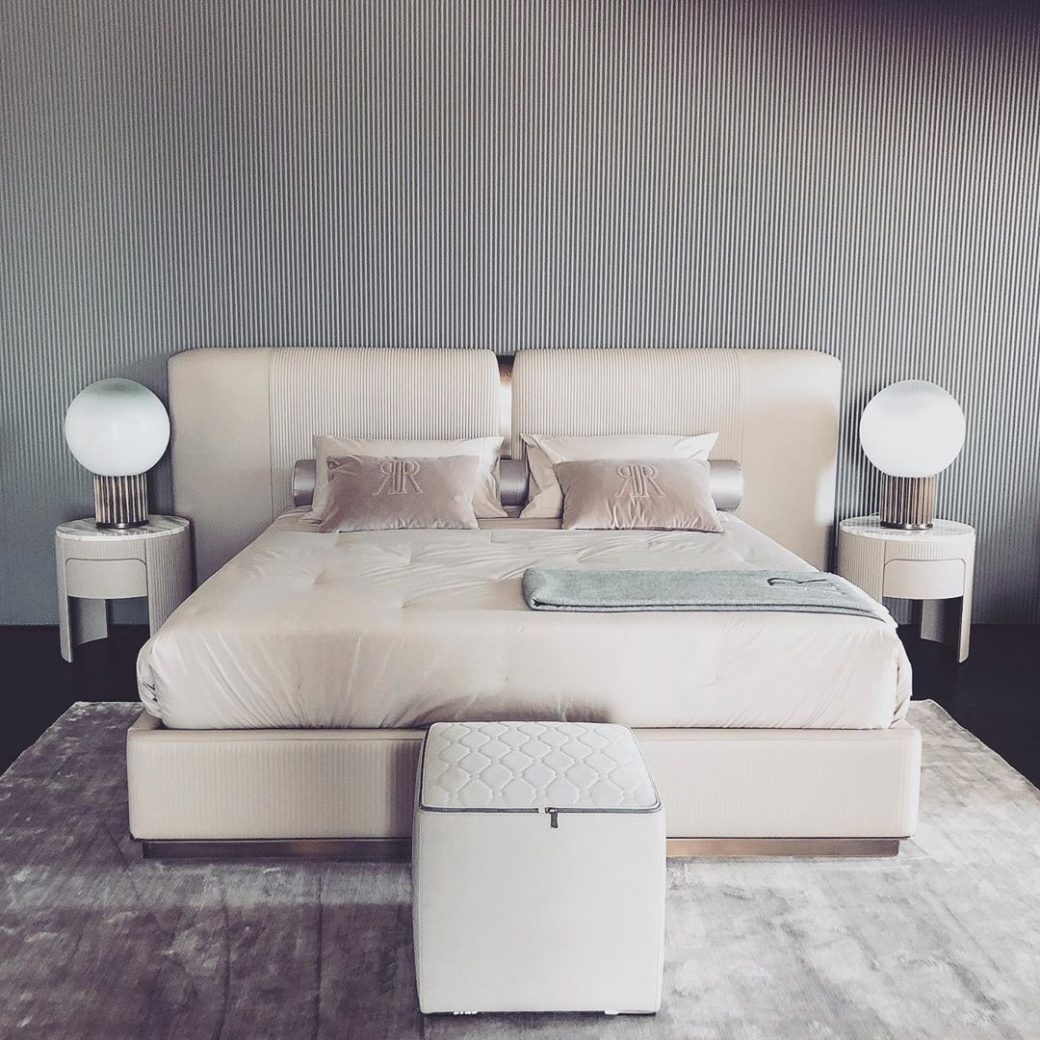 #Vogue bed by #RUGIANO again and again ...