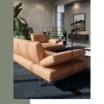 NATUZZI – CONTEMPORARY SOFAS: Recalling warm colors of the Apulian whe …