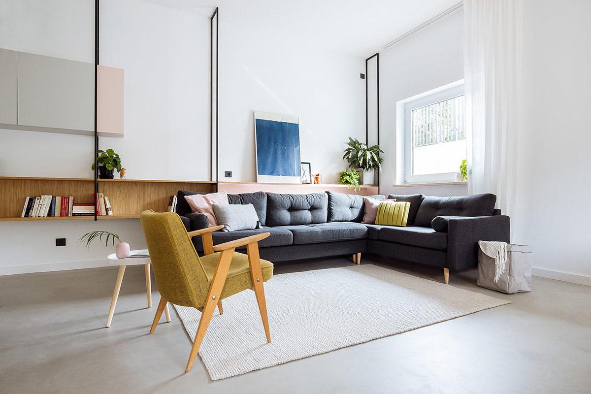 Home Designing Bright Apartments