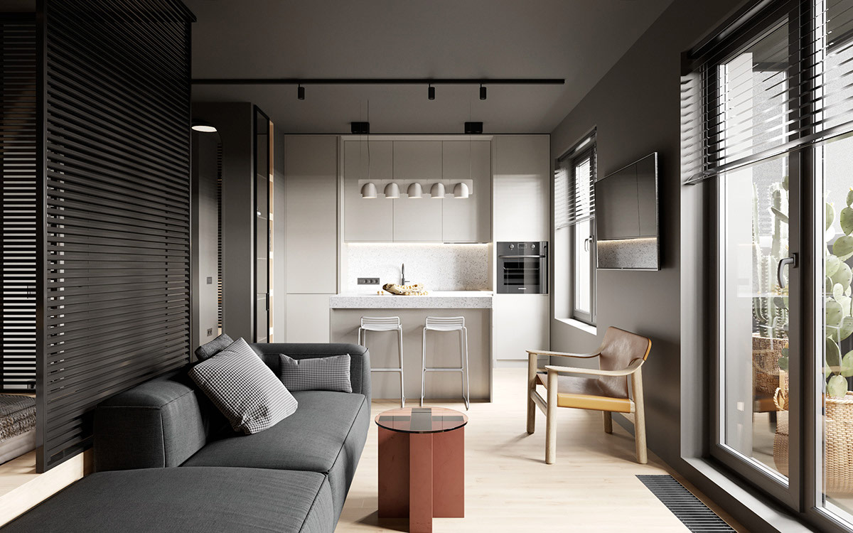 Home Designing Creating Comfortable Living Spaces In A Modern Minimalist Studio Contemporary Designers Furniture Da Vinci Lifestyle