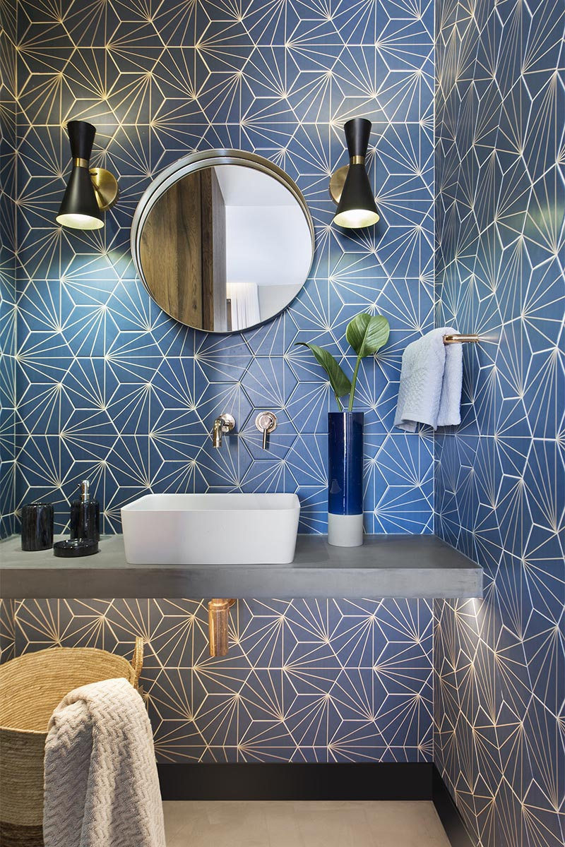 CONTEMPORIST: Bathroom Design Ideas - A Blue Starburst ...