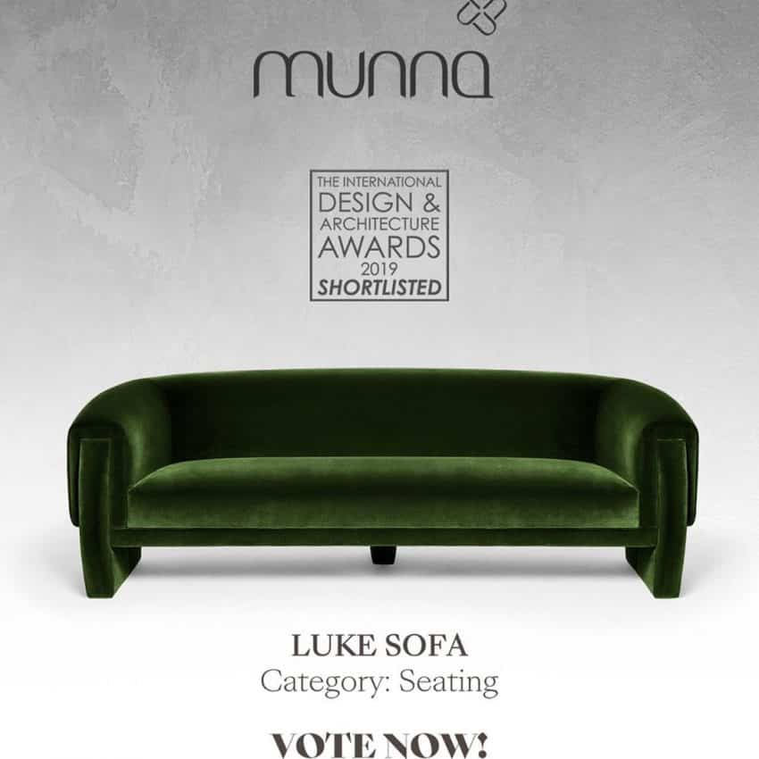 The Luke Sofa has been shortlisted for T...