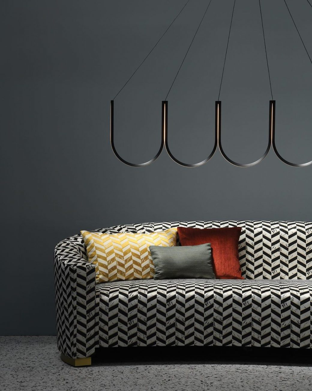 Ahead of the curve | The Louise Sofa uph...