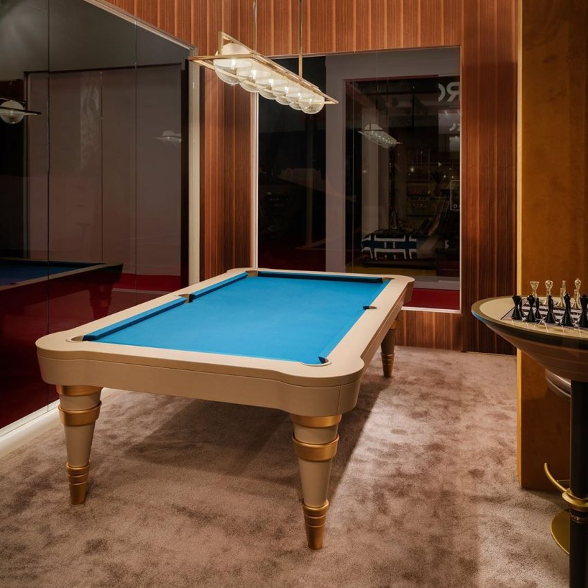 Regis Pool Table, with its timeless eleg...