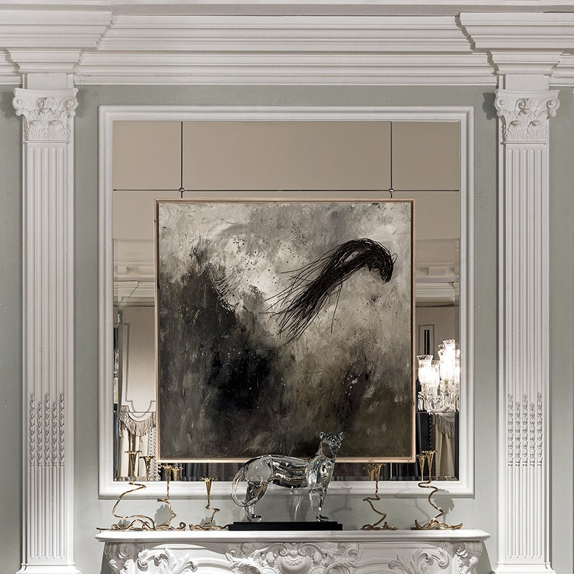 Good art inspires . . . #provasi #luxury...