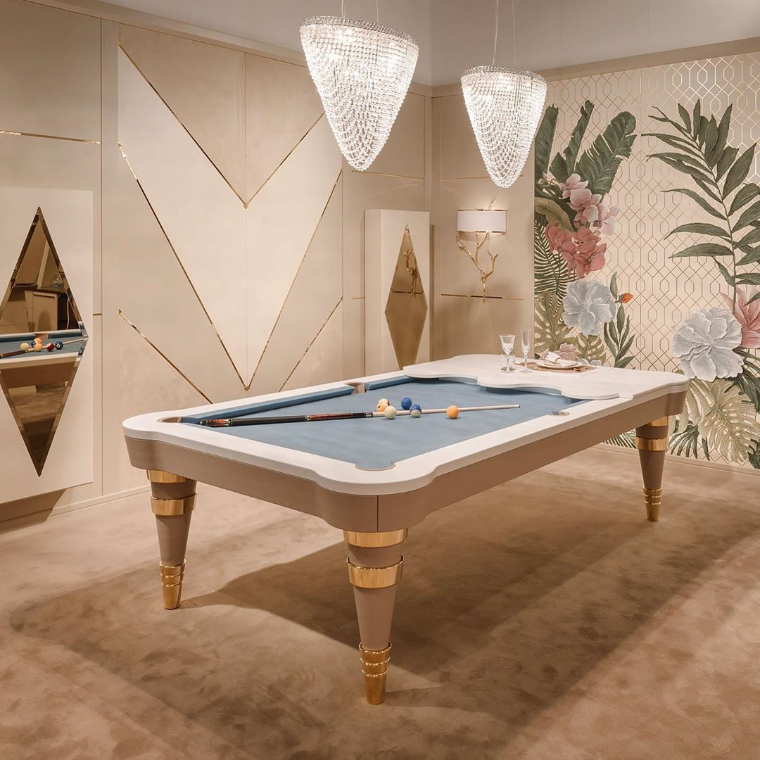 Regis Pool Table is the perfect example ...