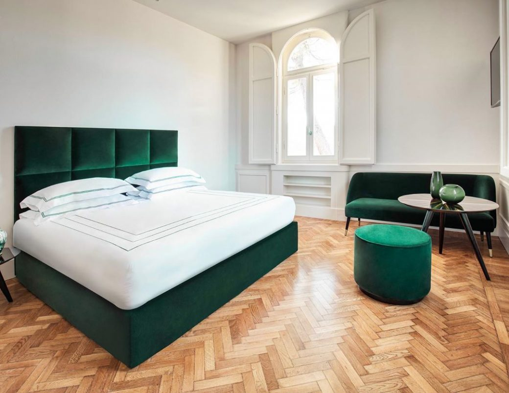 Dante bed, an example of 'evergreen' tha...