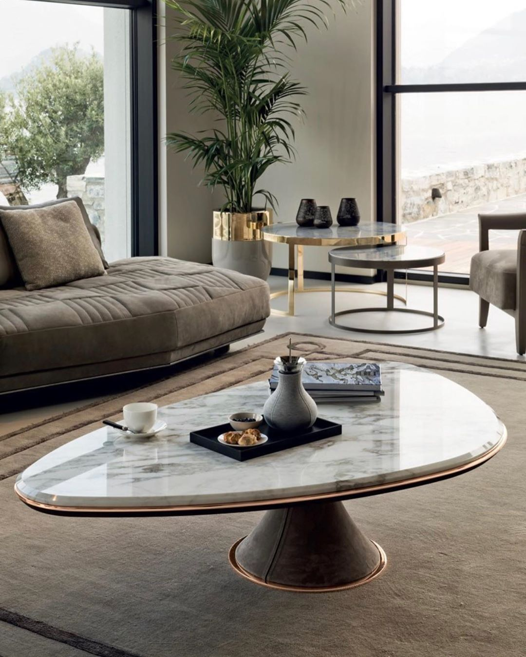 Ghery  small table  design: Giuseppe Viganò  Exclusive Details ~ ~ ~ ~ ~ #longh...