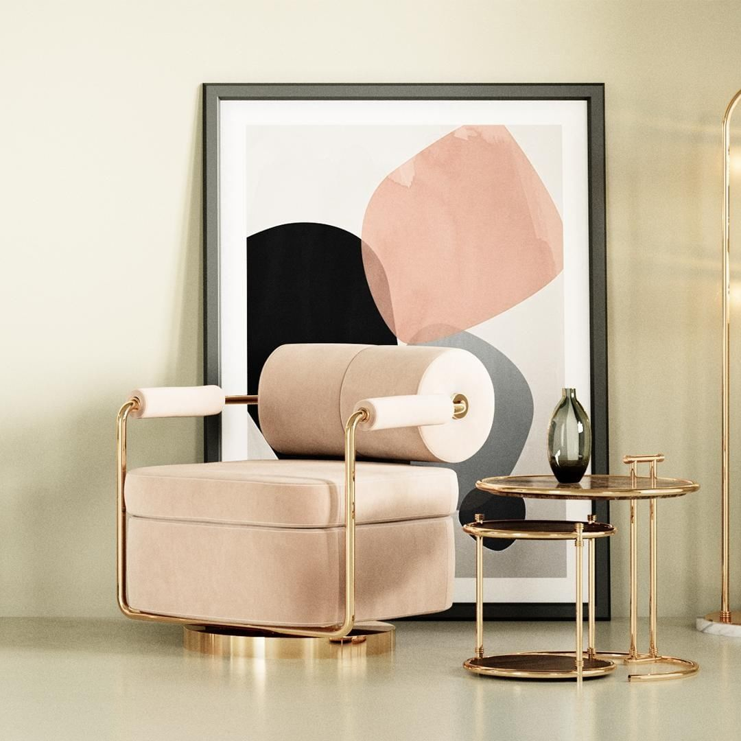 Rose's refined look embodies the mid-century aesthetic finely, turning it into a...