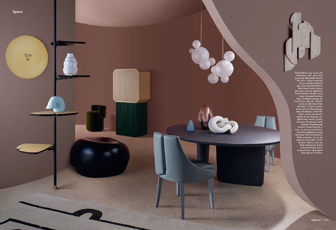 The Polaire Chair in the Curve Appeal ed...