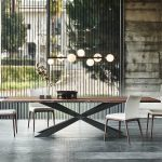CATTELAN ITALIA: SPYDER WOOD table, A statement piece fo …