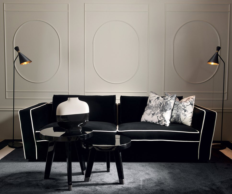 #Alexander sofa is a modular seating sys...