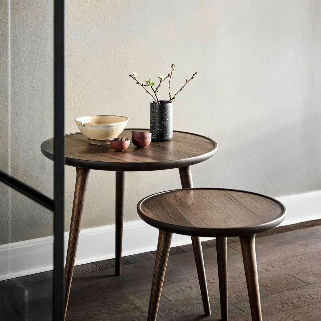 The Accent Table collection is designed ...