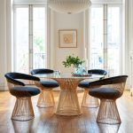 HOME DESIGNING: 51 Pedestal Dining Tables that Offer Maximum Style and Chair Space