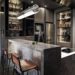 VIBIA: In a Taipei kitchen, designers installed …