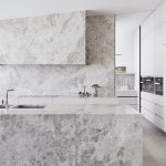 CONTEMPORIST: Limestone Was Used Throughout This Modern Kitchen To Create A Cohesive Look