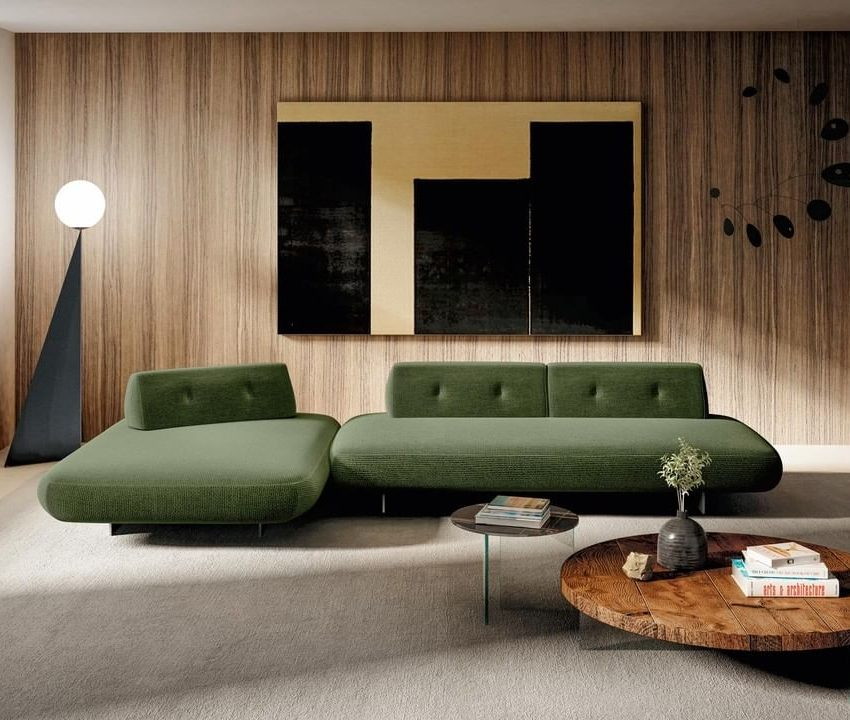 An ergonomic design sofa, with repositio...