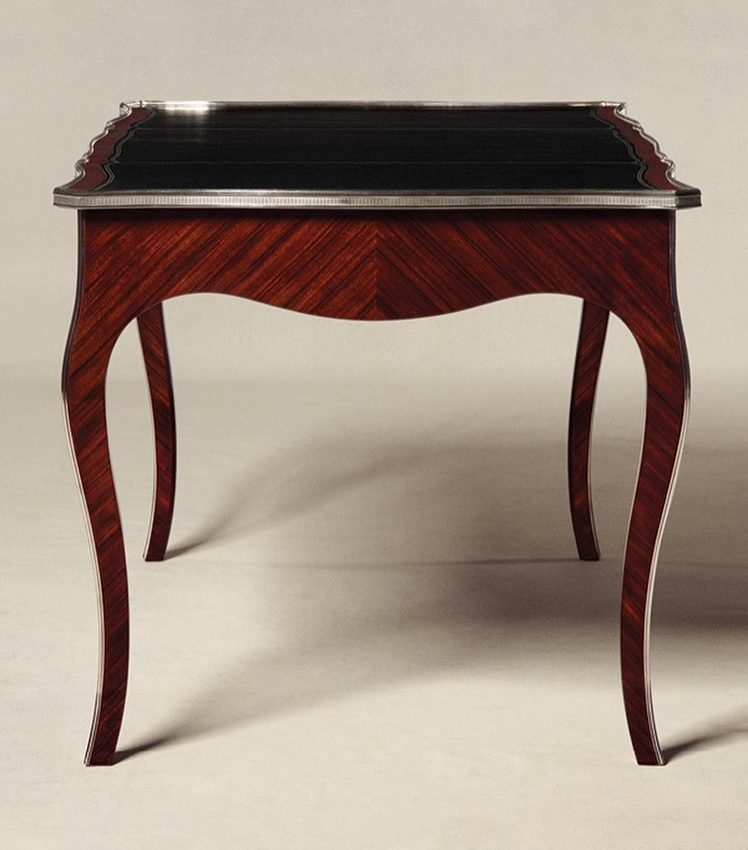 The exquisite Emery Desk offers a modern take on classic Louis XV style. #Ralp...