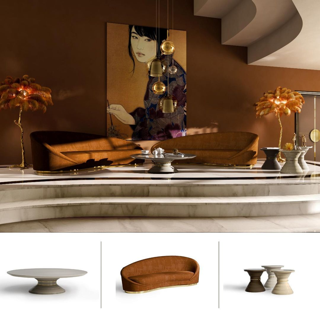 The essential of a Living Area:  Sinuous...