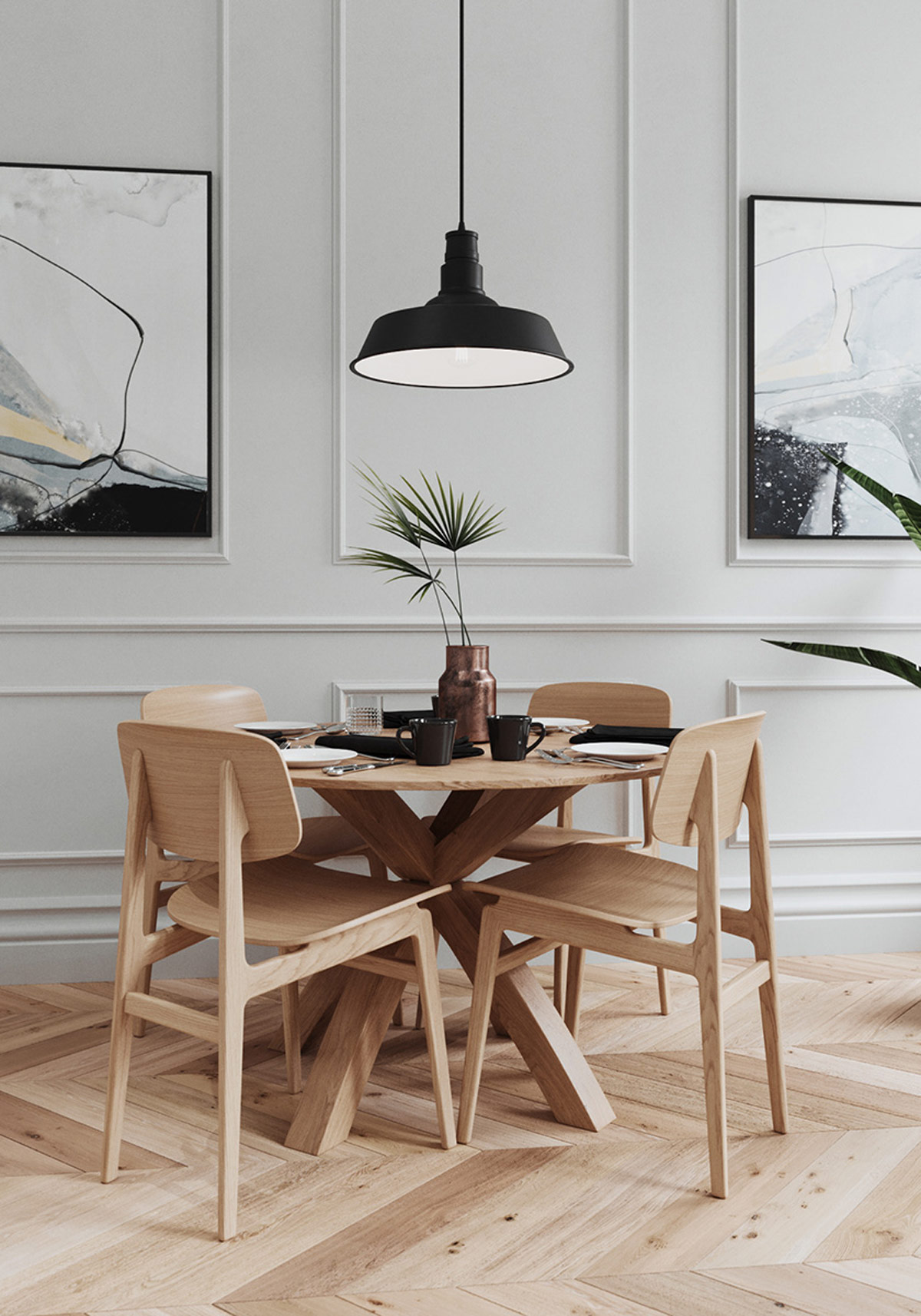 Home Designing Introducing Colour To A Base Of White Black Wood Tone Da Vinci Lifestyle