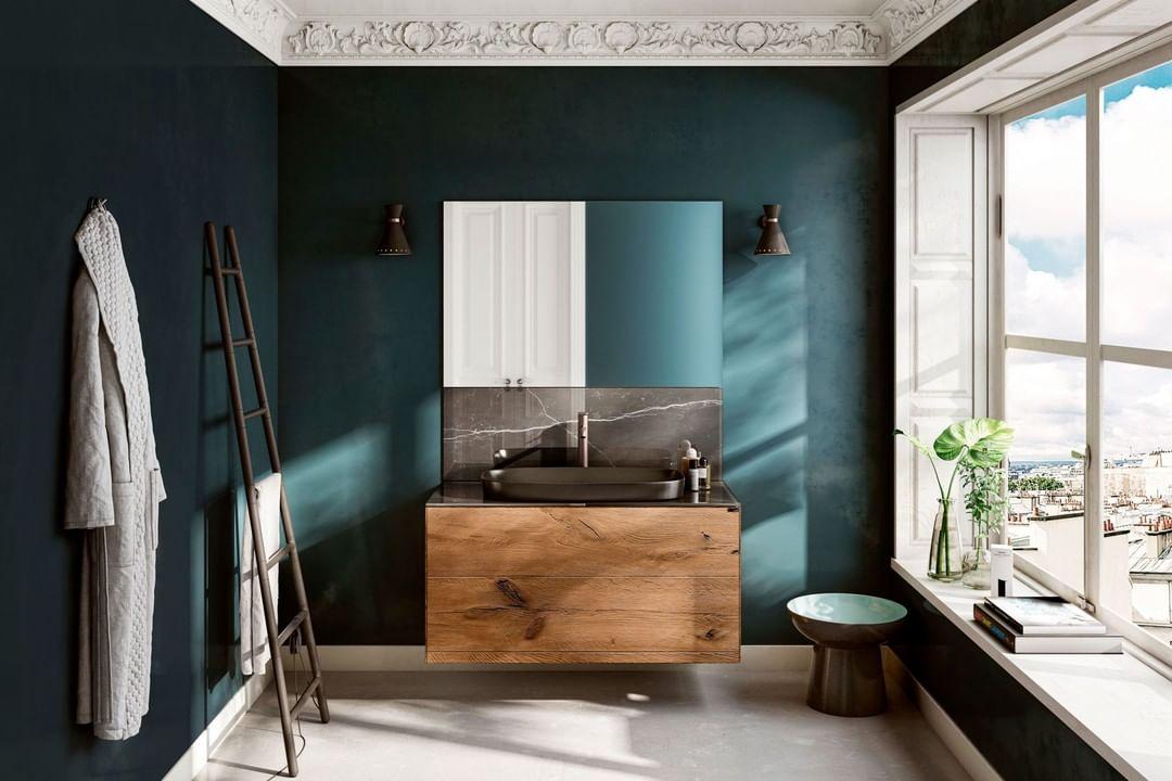 Practical, functional bathroom furnishin...