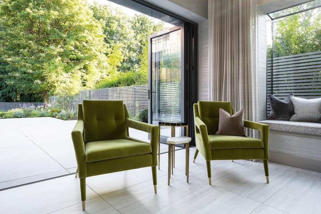 The award winning Chantal Armchairs matc...