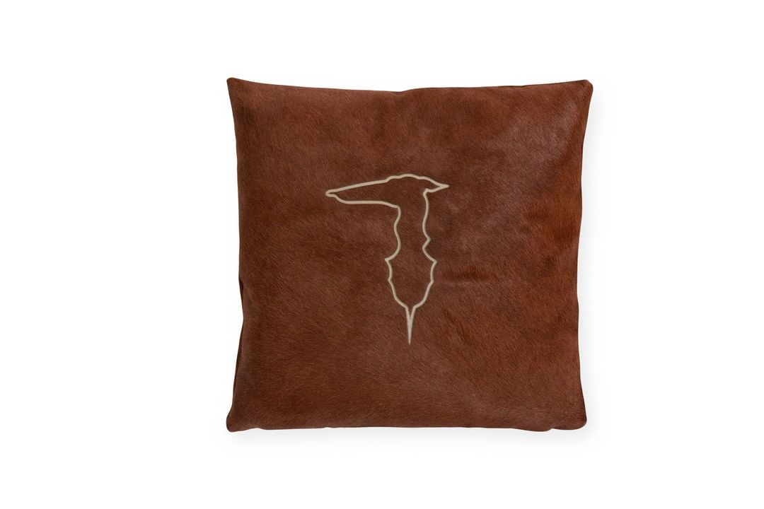 The new pillow from the #TrussardiCasa c...