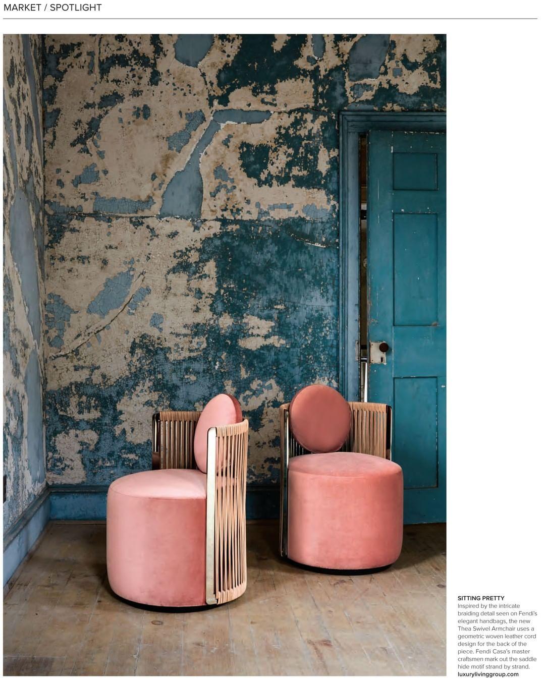 #Thea armchair by #FENDICasa