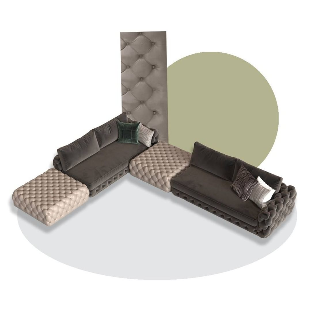 The geometric rigour of the new sofa fro...