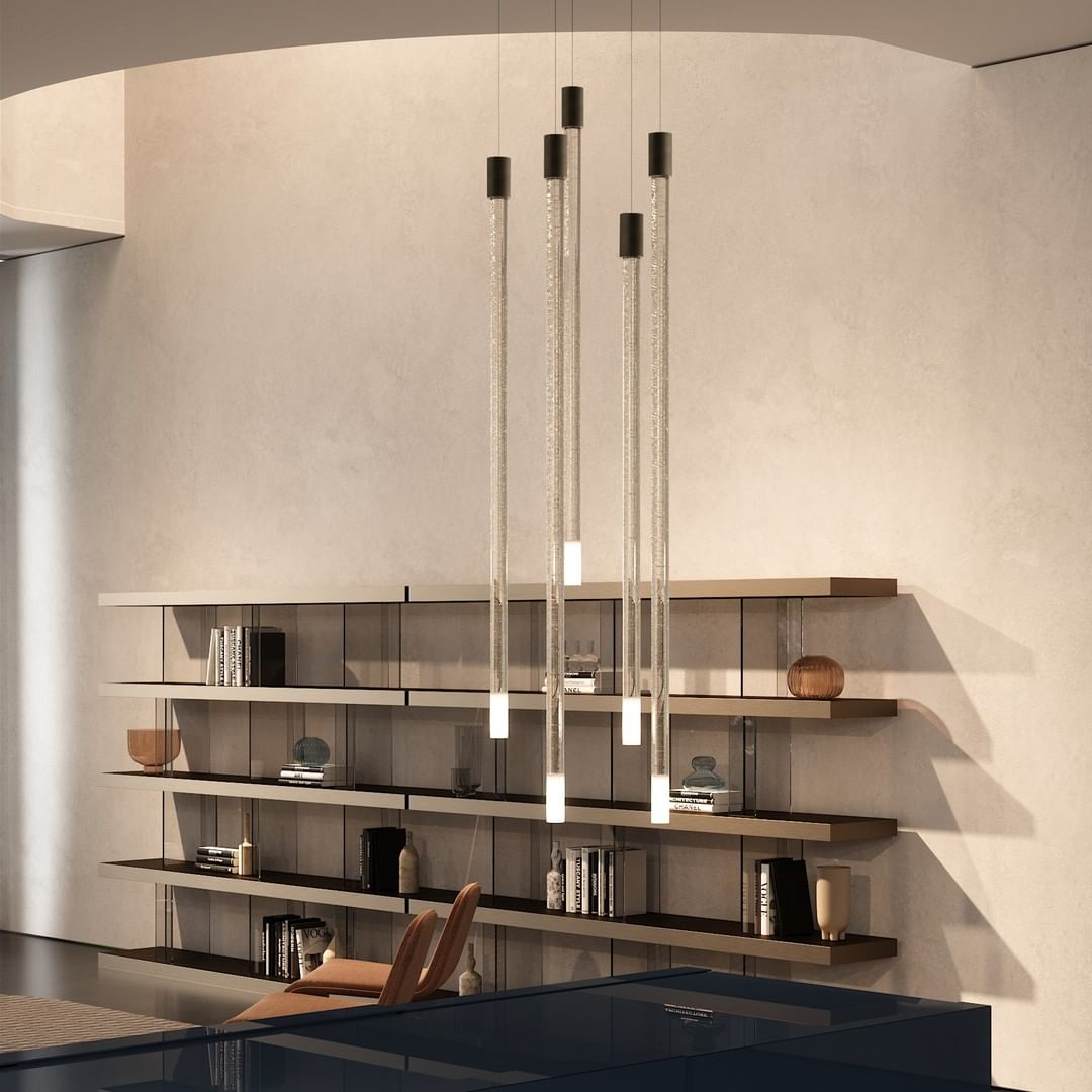 Lucciola suspension - just flying over t...