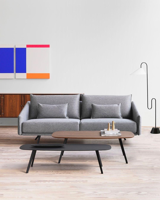 The STUA Costura sofa and Solapa tables ...