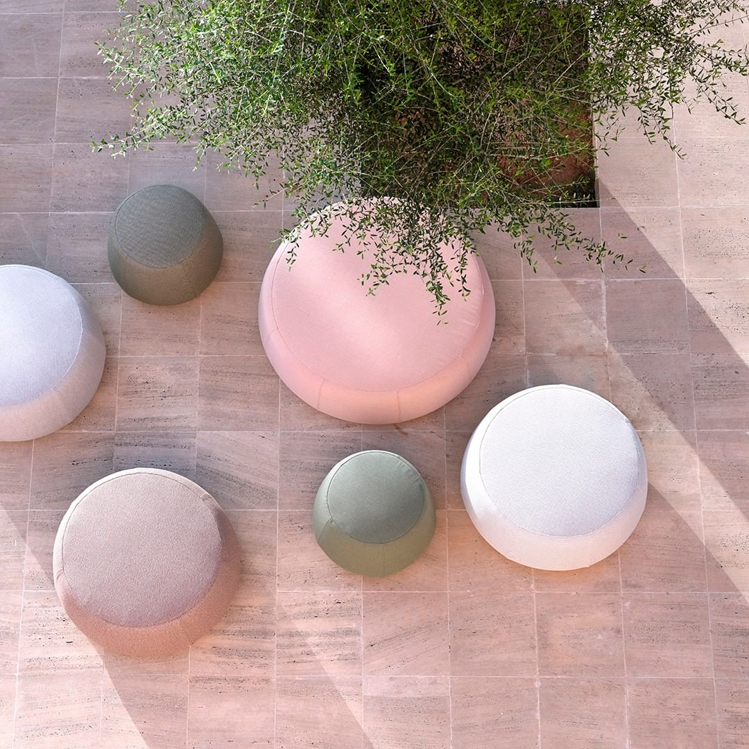 Nomad poufs, the perfect accessories to ...