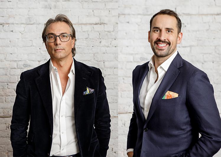 Mario Tricoci and Michael Kitchen