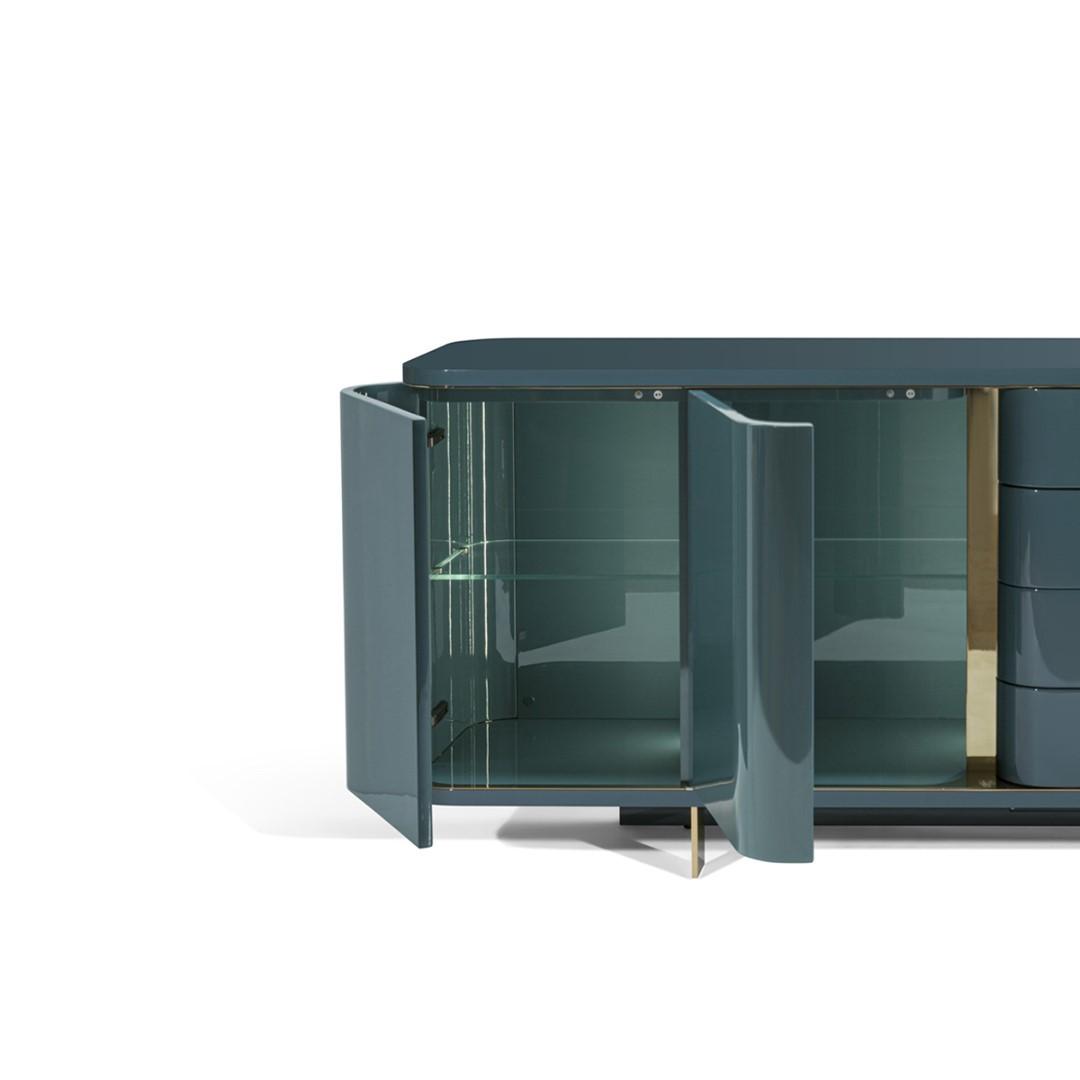 Donegal low unit, design Mauro Lipparini...