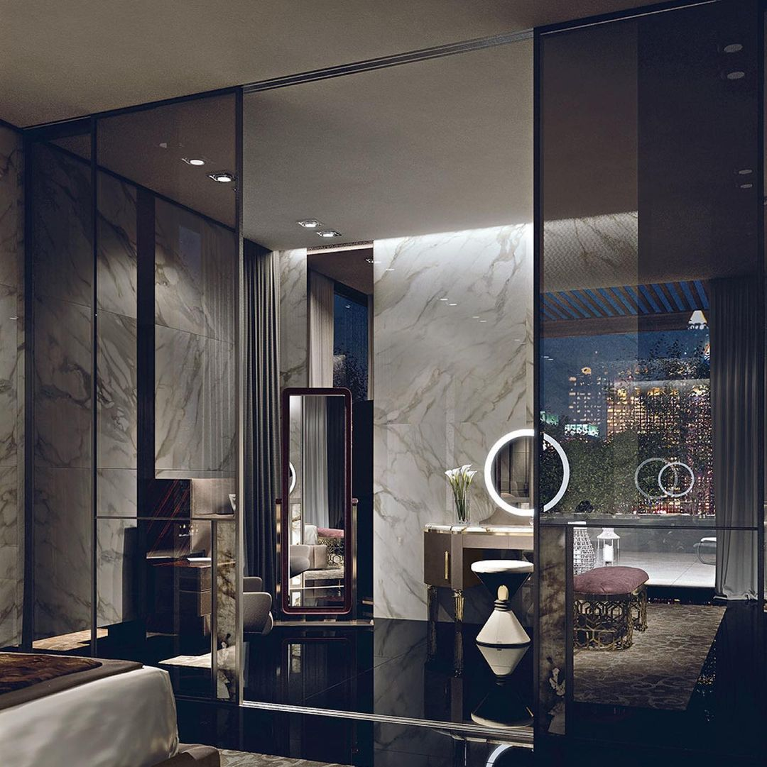 Luxurious and exclusive, the protagonist...