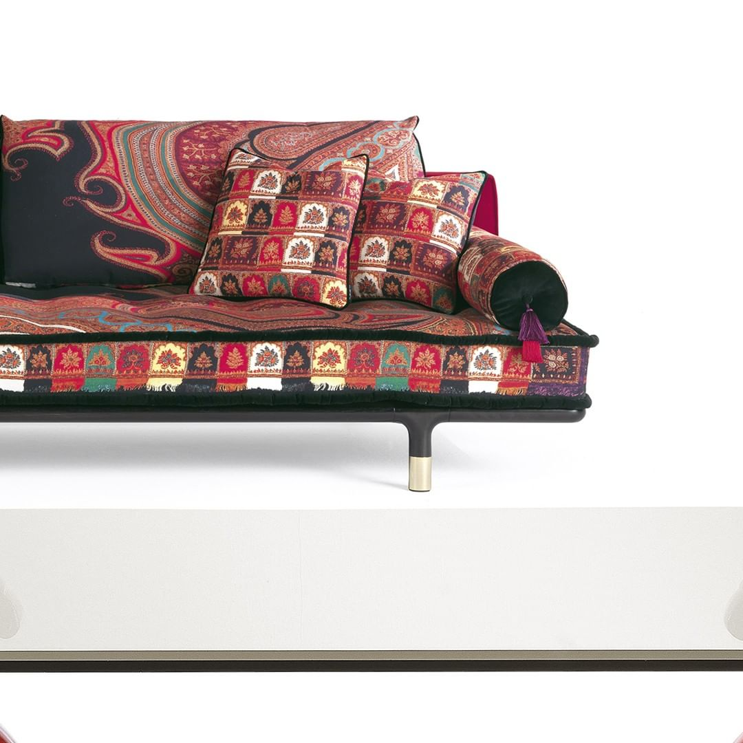 Woodstock is a sofa with bold character ...