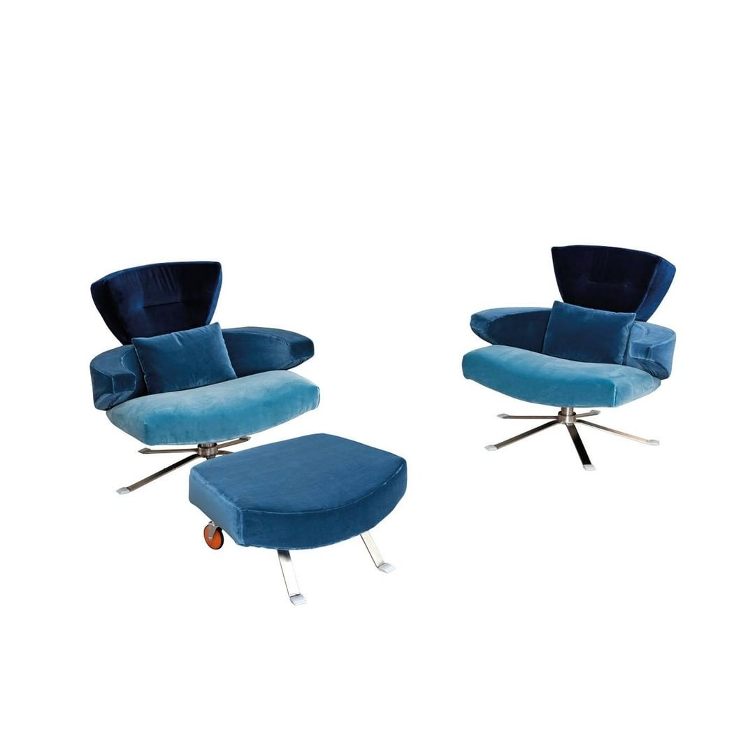 Mary is an upholstered armchair with sof...