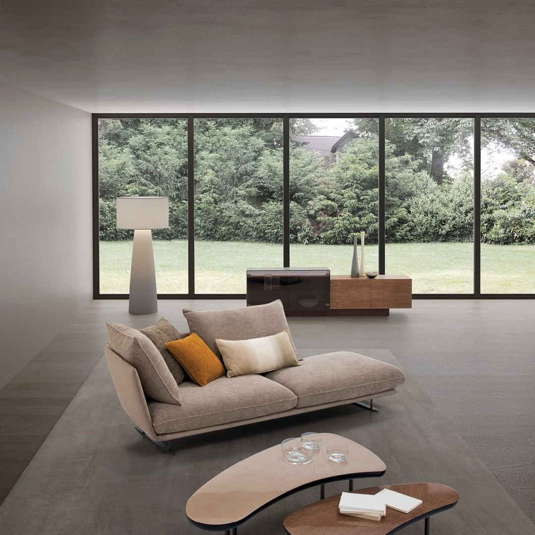 The Moonstar sofa features and extraordi...