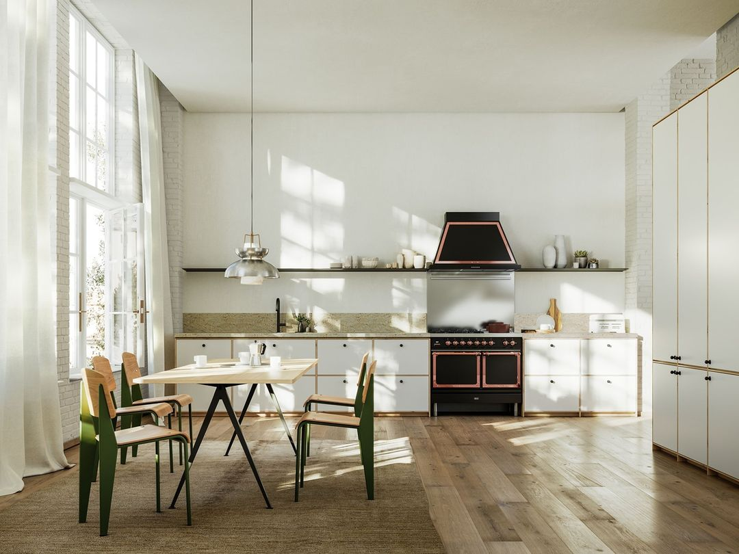 Open-plan spaces inspire creativity with...