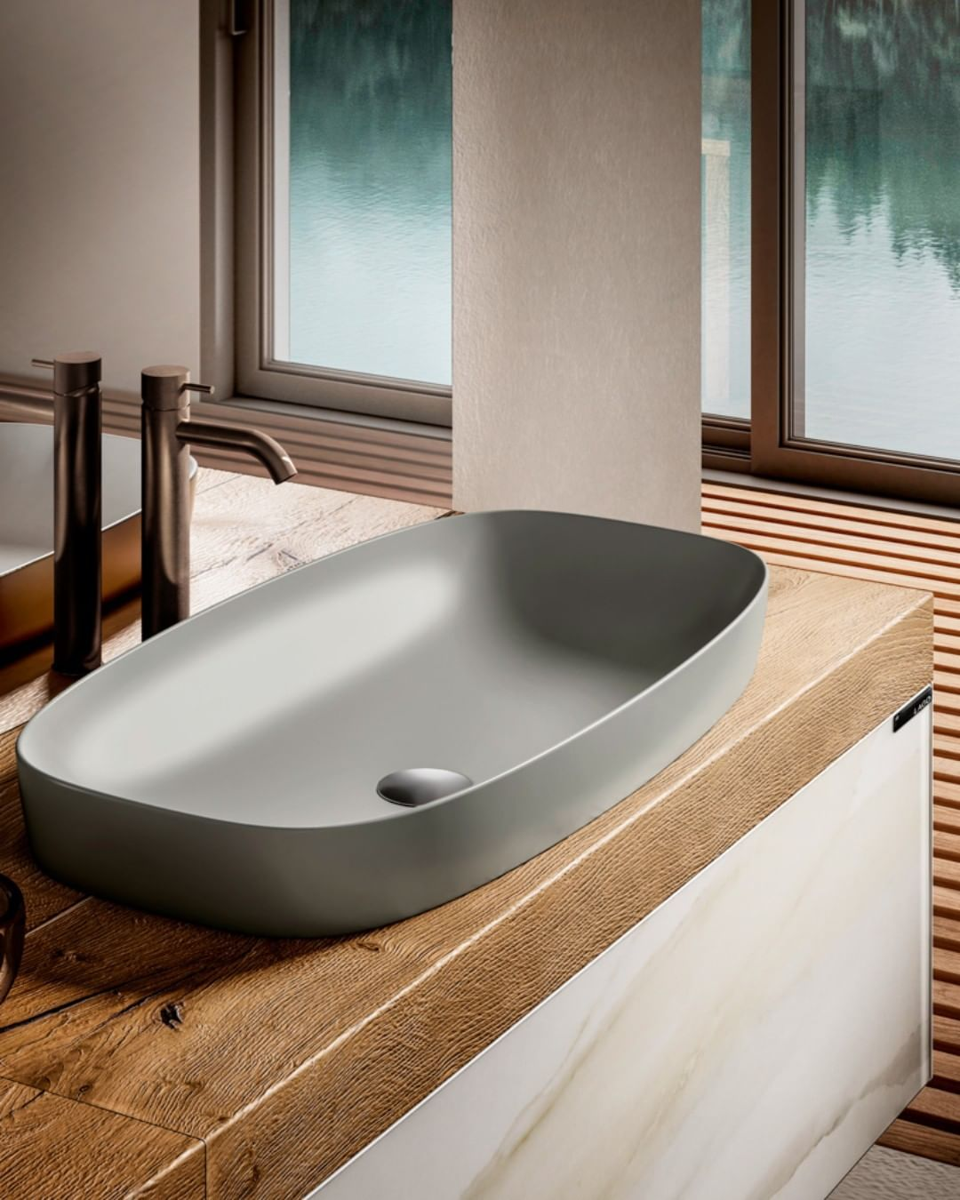 The new Kera Basin is particularly pract...