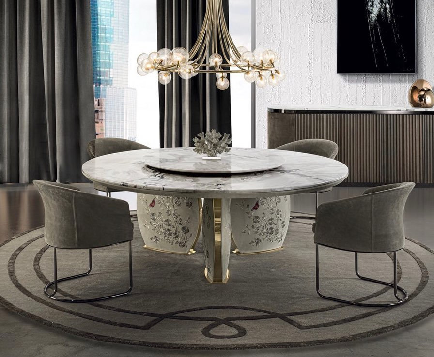 LOTUS table / LILY  Chair  design: Giuse...