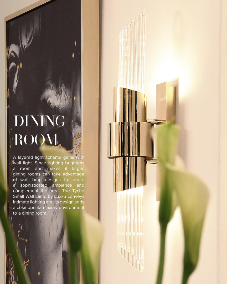 Since lighting can define an ambiance an...