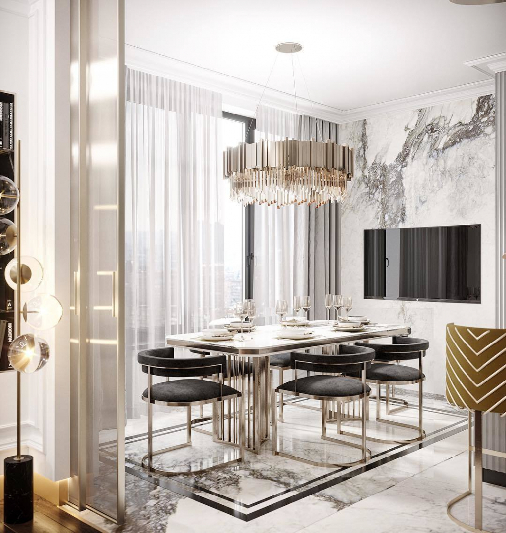 What do you think about this dining room...