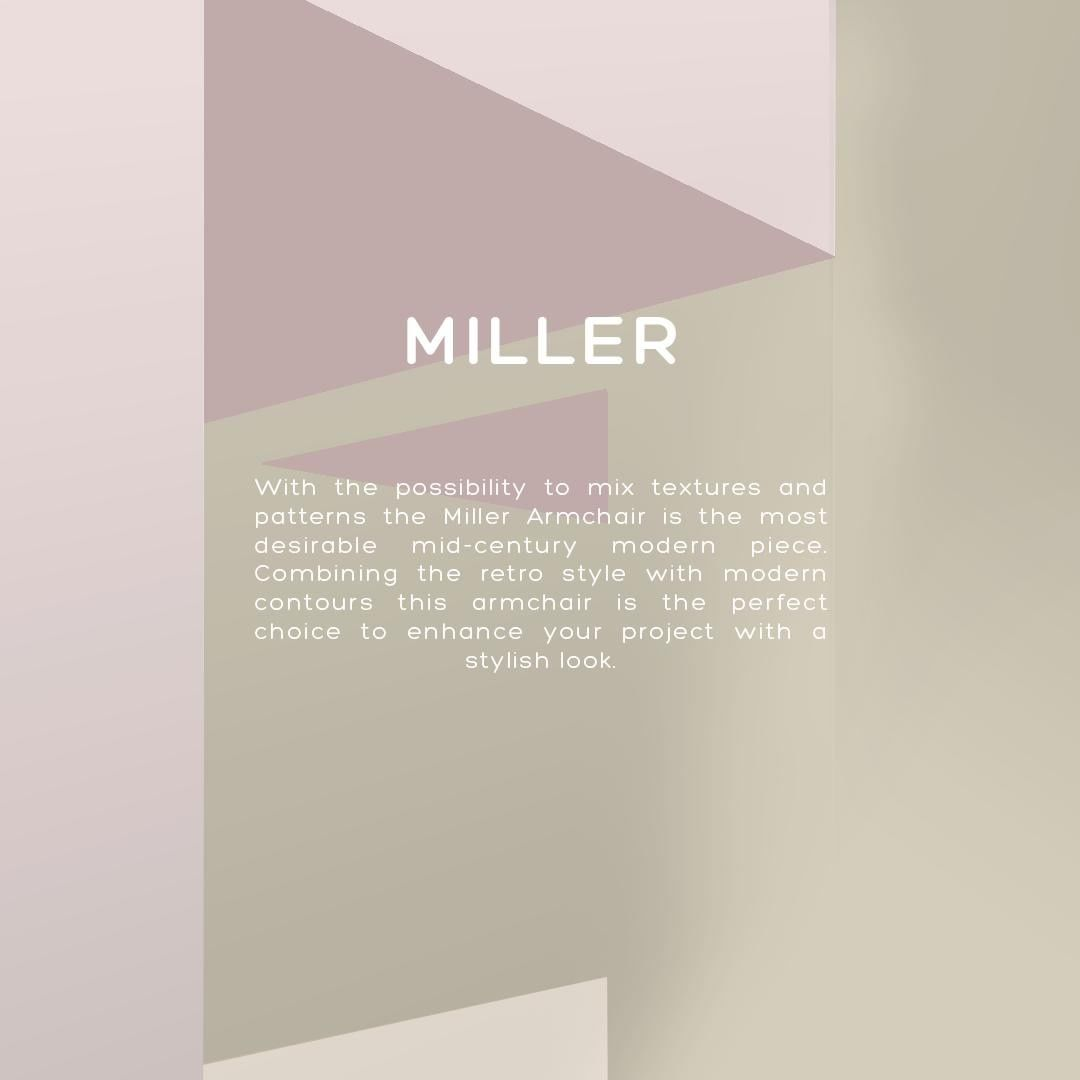 Know the Miller Armchair here  ...